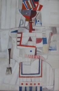 Mujer en blanco